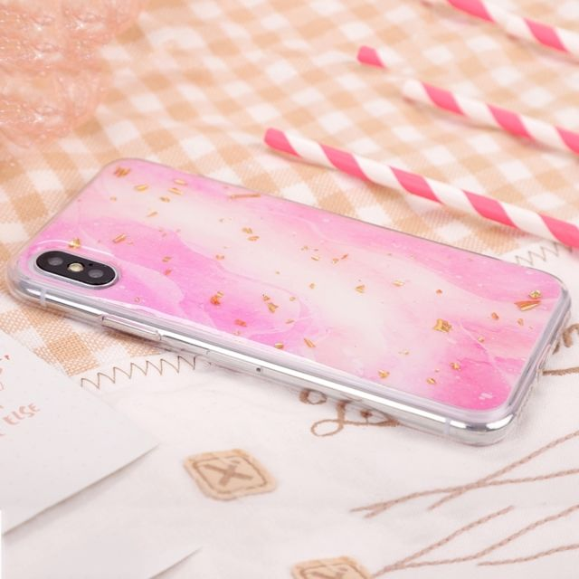 coque epaisse iphone x rose