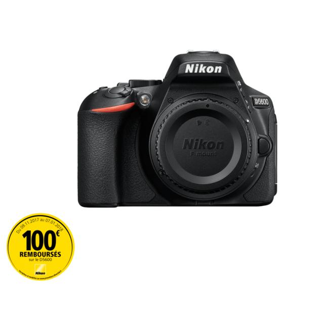 NIKON appareil photo reflex - d5600 nu