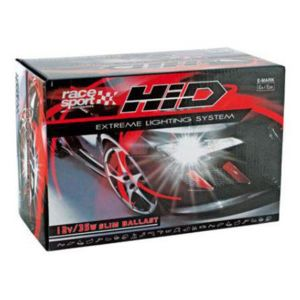 racesport kit xenon hid 2 ampoules h1 35w 8000k ballast slim 12v pas cher achat. Black Bedroom Furniture Sets. Home Design Ideas