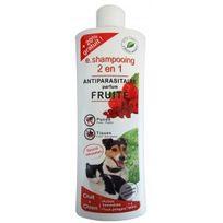 Agecom - Shampoing antiparasitaire Essential 2 en 1 fruité pour chien et chat flacon 250 ml