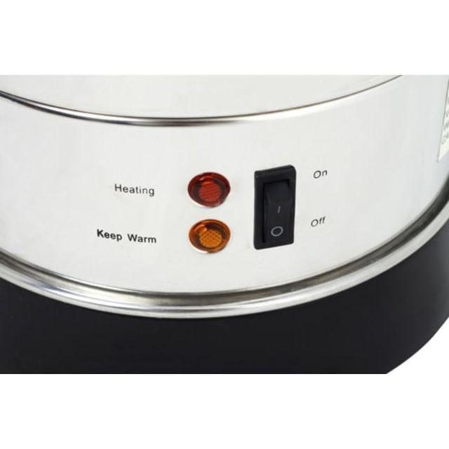 Icaverne - Électroménager de cuisine selection Marmitte style Percolateur 6,8 Litres