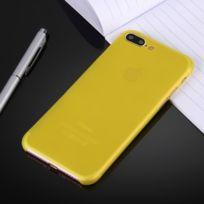 coque iphone 8 plus jaune moutarde