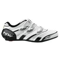 Northwave - Chaussures Vertigo Pro Blanches Et Noires Chaussures de vélo route