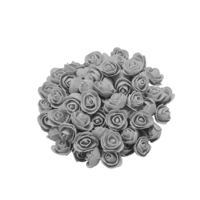 500PCS mousse fleur de rose rouge Cadeaux pour la fête de mariage Fête des mères