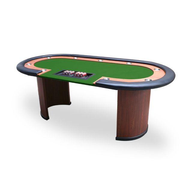 Pokeo Table Nevada 4 Dealer racetrack vert