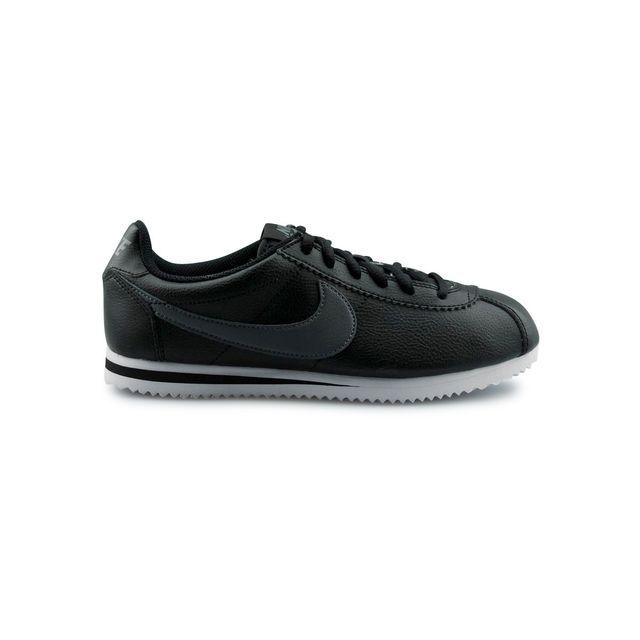 online store ea5bf f7ba7 Nike - Cortez Junior Noir - pas cher Achat   Vente Baskets enfant -  RueDuCommerce