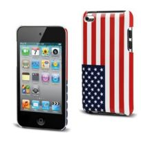 Muvit - Flag Back Coque rigide en polycarbonate pour iPod Touch 4 Etats-Unis