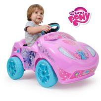 Injusa - My Little Pony Voiture electrique Enfant Rose Fire 6 V