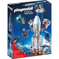 PLAYMOBIL - Base de lancement avec fusée - 6195