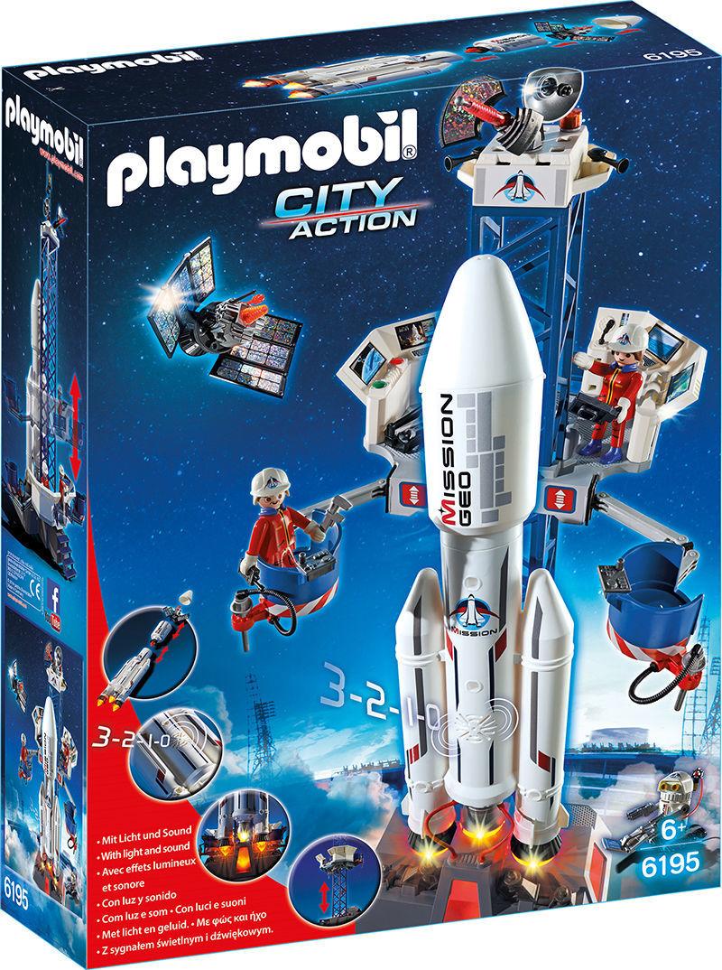 Base de lancement avec fusée - 6195