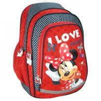 Minnie Mouse - Minnie sac à dos scolaire école enfant fille Disney