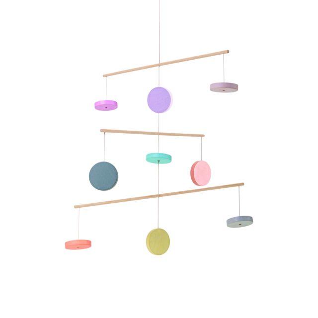 Plan Toys - Mobile pastel