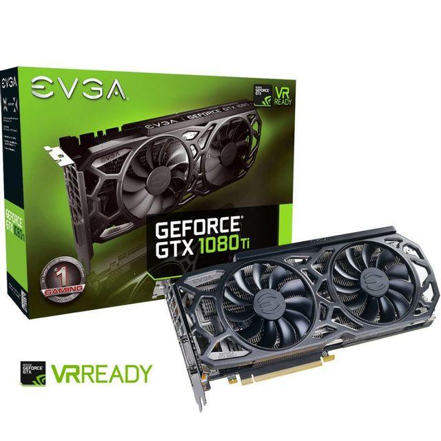 EVGA - GeForce GTX 1080 Ti SC Black Edition GAMING iCX Cooling