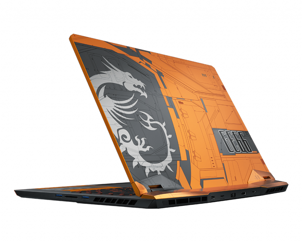 GE66-Dragonshield-10SFS-446FR - Noir