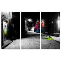 Declina - Tableau déco art de la rue moderne pas cher - Cadre triptyque