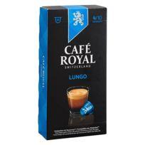 CafÉ Royal - Capsules de café Lungo - Boîte de 10