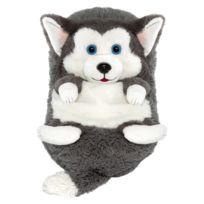 DUJARDIN - Peluche Cali Pets : Chien Husky Lucky