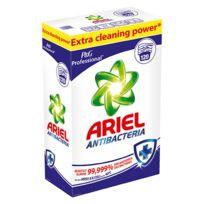 Ariel - Lessive poudre Professional Antibacteria – Baril 120 doses