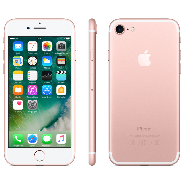 APPLE iPhone 7 - 128 Go - Or Rose - Reconditionné