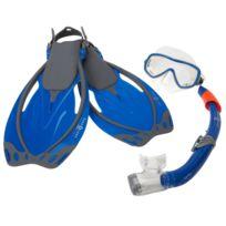 Aqualung - Masque de plongée Set yucatan Bleu 40345