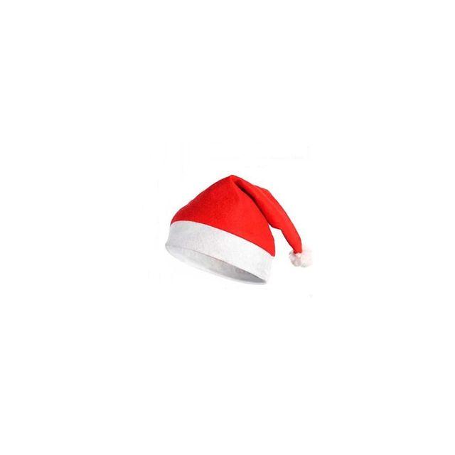 f6fca1f2986fa Bonnet de Père Noel rouge