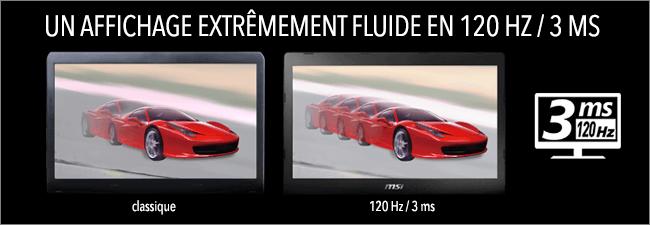MSI - Ecran Full HD 120Hz
