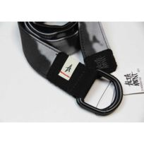 Altamont - Ceinture Leather Sig Black Cuir