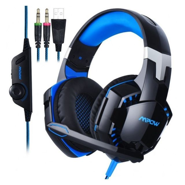 Alpexe Mpow Casque Gamer Pour Ps4 Tablette Pc Iphone 66s6