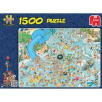 Jumbo - Puzzle 1500 pièces : A la piscine, Jan Van Haasteren