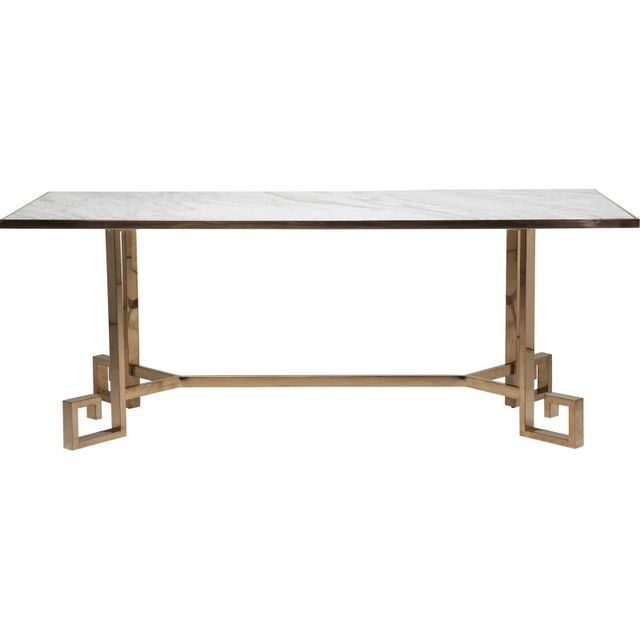Karedesign Table Jazz marbre 80x200cm Kare Design