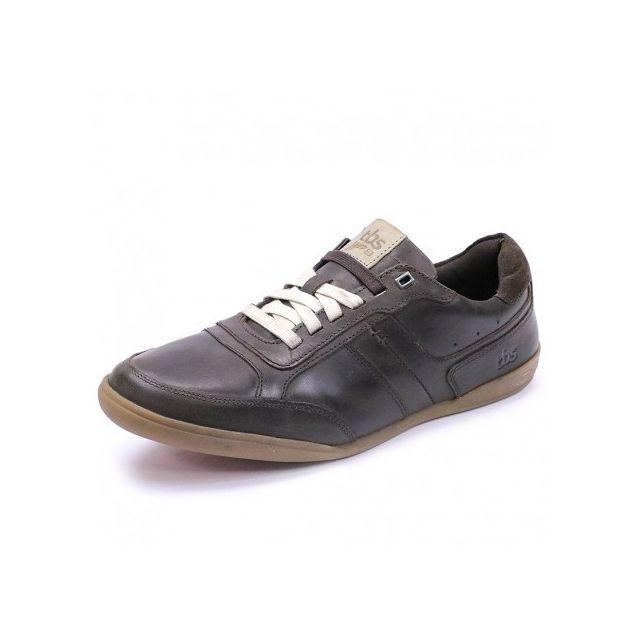 c732f25a90b51 Tbs - Chaussures Damonn Marron Homme - pas cher Achat   Vente Baskets homme  - RueDuCommerce