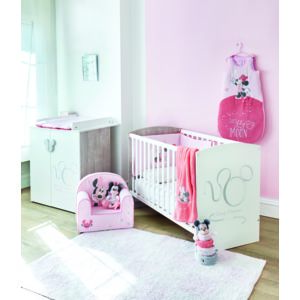 Disney baby ensemble lit b b commode 2 portes pas for Ensemble chambre bebe