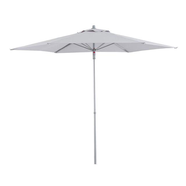 Pegane - Parasol Gris avec Toile en polyester, 2,3 x 2 m