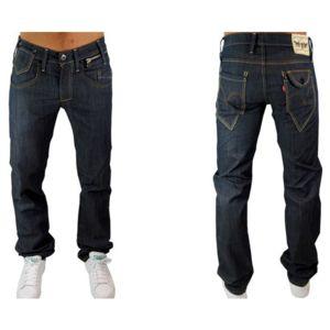 Levi'S - Levis - Jean - Homme - 504 Straight Leg 0005 - Bleu Brut -