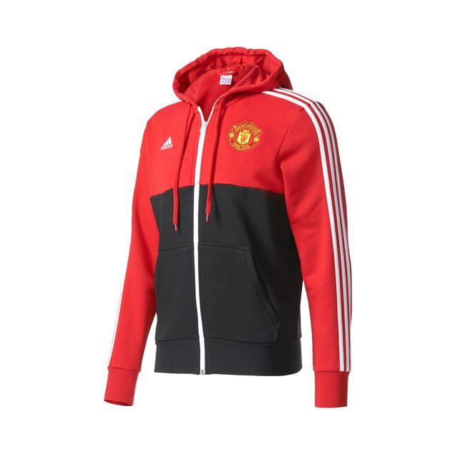 Capuche À United Performance Adidas Rougenoir Manchester Veste Pat0tqxw