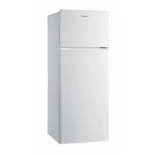 CANDY réfrigérateur 2 portes 55cm 204l a+ statique blanc - cdd2145e