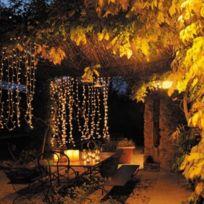 Blachère illumination - Rideau flicker 2mx2m Blanc chaud connectable