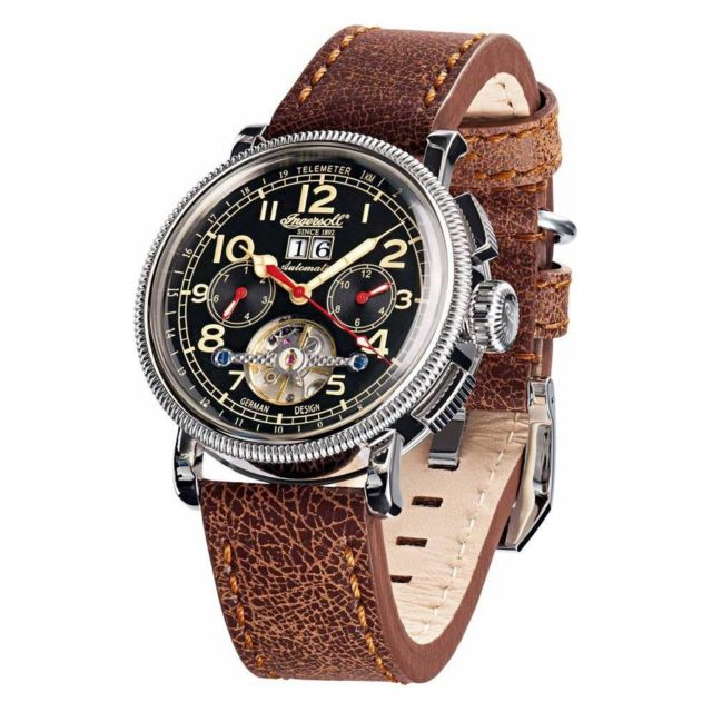 magasin en ligne 73fdf 00218 Montre Homme Classic In1827BKCR Marron