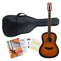 Classic Cantabile - Guitare de Western Starter Set y compris set d´accessoires 5 pièces