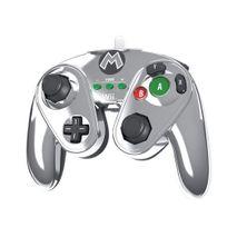 Afterglow - Pdp Fightpad Mario Ed Limitee Wii U