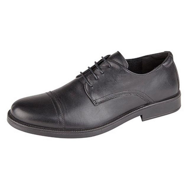 Imac Chaussures de ville - Homme 45 Eur, Noir Utdf1068