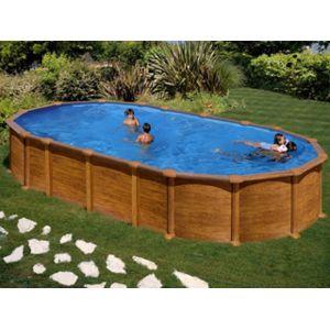 gr pools pool zen spa kit piscine hors sol acier gr dreampool amazonia ovale x x. Black Bedroom Furniture Sets. Home Design Ideas