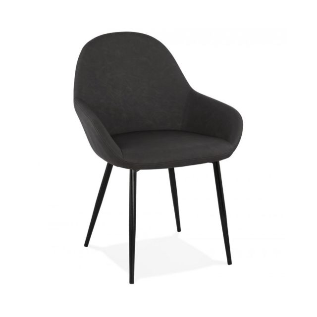 Kokoon Design Fauteuil design Gra Dark Grey 55x60x83 cm