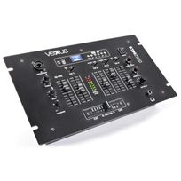 Vexus - Stm2500 Table de mixage 5 canaux Bluetooth Usb Mp3 Eq Phono