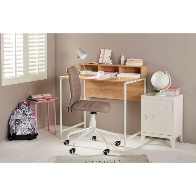 Carrefour Home Bureau Avec Cases De Rangement H14 0368