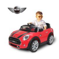 BMW MOTOR SPORT - Mini Cooper voiture électrique enfants à partir de 37 mois 2 moteurs 6 V 2,5-5 Km/h phares musique télécommande