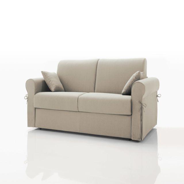 marque generique canap convertible 2 places tissu. Black Bedroom Furniture Sets. Home Design Ideas