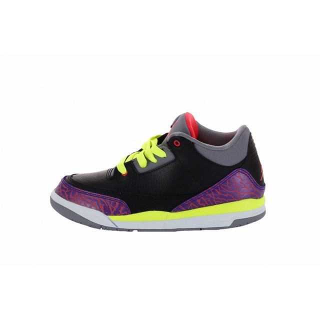 Nike - Basket Air Jordan 3 Retro Cadet PS 441141-039 27 1/2 - pas cher Achat / Vente Baskets enfant - RueDuCommerce