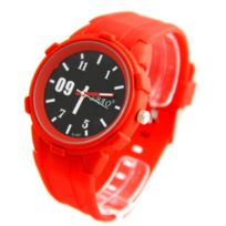 Sbao Homme - Montre Homme Silicone Rouge 2211