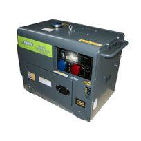 Varanmotors - Générateur électrique Diesel insonorisé Groupe électrogène 5kVA 400V et 230V Sans perte